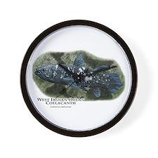 West Indian Ocean Coelacanth Wall Clock