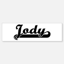 Black jersey: Jody Bumper Bumper Bumper Sticker