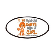 Fights Like a Girl 42.9 Leukemia Patches