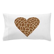 I Love Giraffes Pillow Case