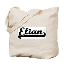 Black jersey: Elian Tote Bag