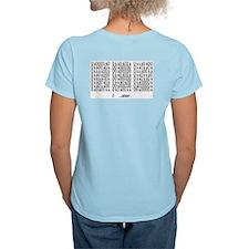 Robotology Women's Pink T-Shirt