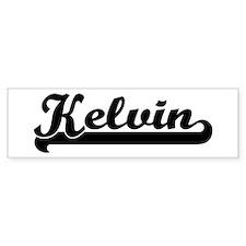 Black jersey: Kelvin Bumper Bumper Sticker