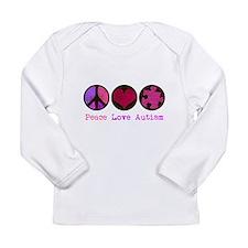 Autism is me Long Sleeve Infant T-Shirt