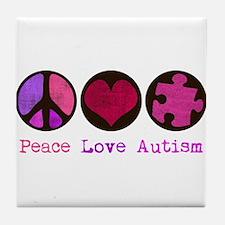 Autism is me Tile Coaster