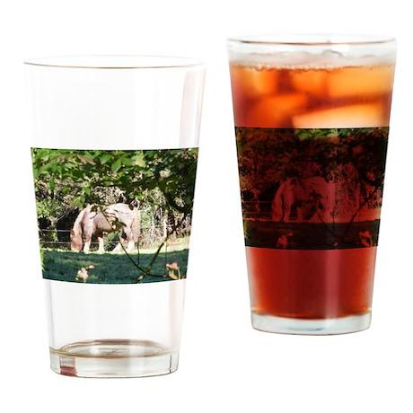 Breton Horse Drinking Glass