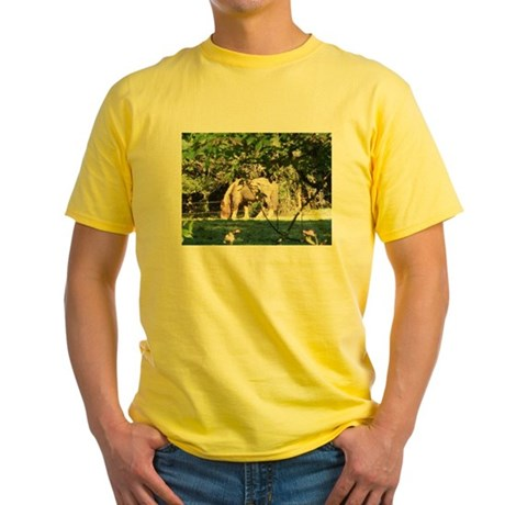 Breton Horse Yellow T-Shirt