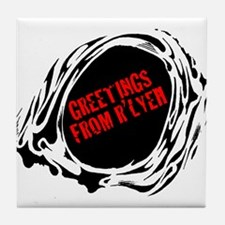 GREETINGS FROM RLYEH Tile Coaster