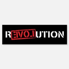 Ron Paul Revolution Sticker (Bumper)