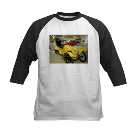 1914 Rocket Car Kids Baseball Jersey