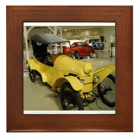 1914 Rocket Car Framed Tile