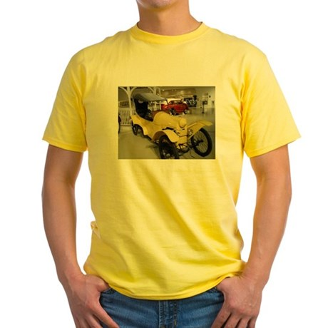 1914 Rocket Car Yellow T-Shirt