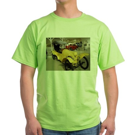 1914 Rocket Car Green T-Shirt
