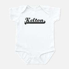 Black jersey: Kelton Infant Bodysuit