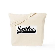 Black jersey: Spike Tote Bag