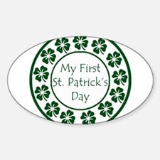 My First St Patricks Day Decal