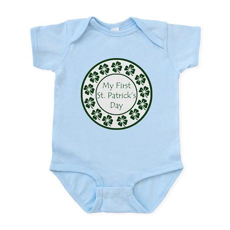 My First St Patricks Day Infant Bodysuit