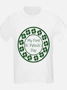 My First St Patricks Day T-Shirt