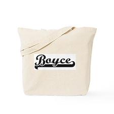 Black jersey: Boyce Tote Bag