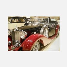 1938 Classic MG Tour Rectangle Magnet