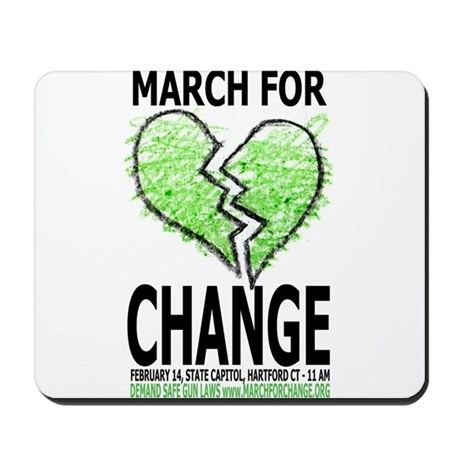 March For Change Mousepad
