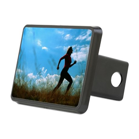 Woman jogging - Hitch Cover