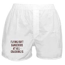 Flying Isnt Dangerous Boxer Shorts