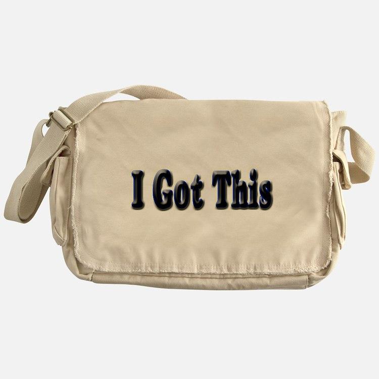 I got this. Messenger Bag