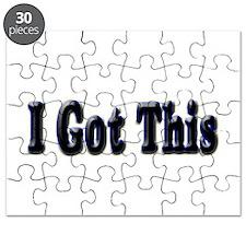 I got this. Puzzle