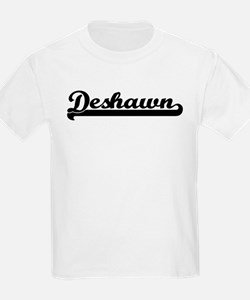 Black jersey: Deshawn Kids T-Shirt
