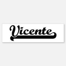 Black jersey: Vicente Bumper Bumper Bumper Sticker