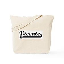 Black jersey: Vicente Tote Bag