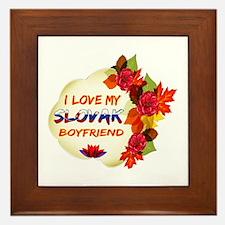 Slovak Boyfriend designs Framed Tile
