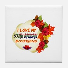 South African Boyfriend designs Tile Coaster
