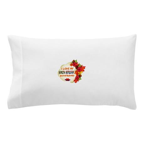 South African Boyfriend designs Pillow Case