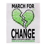 March for Change Throw Blanket