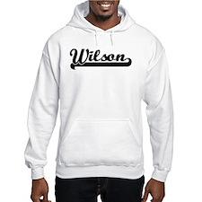 Black jersey: Wilson Hoodie