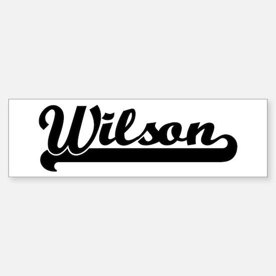 Black jersey: Wilson Bumper Bumper Bumper Sticker