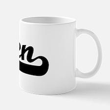 Black jersey: Efren Small Small Mug