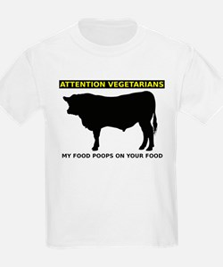My Food Poops On Yours Funny T-Shirt T-Shirt