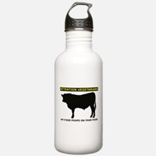 My Food Poops On Yours Funny T-Shirt Water Bottle