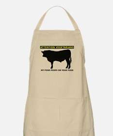 My Food Poops On Yours Funny T-Shirt Apron
