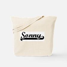Black jersey: Sonny Tote Bag