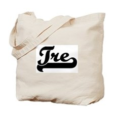 Black jersey: Tre Tote Bag