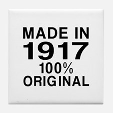 Made In 1917 Tile Coaster