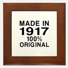 Made In 1917 Framed Tile