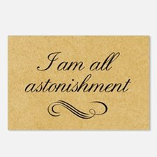 I Am All Astonishment Postcards (Package of 8)