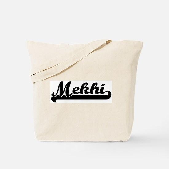 Black jersey: Mekhi Tote Bag