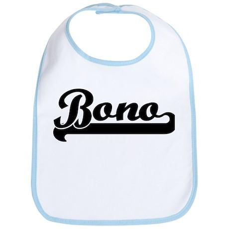 Black jersey: Bono Bib