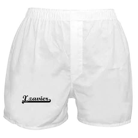 Black jersey: Xzavier Boxer Shorts